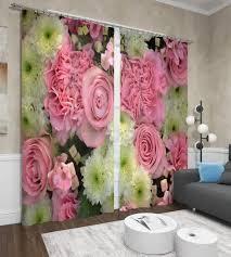 """<b>Фотошторы Сирень</b> """"<b>Астры и</b> розы"""", ФШГБ001-13506, розовый ..."""