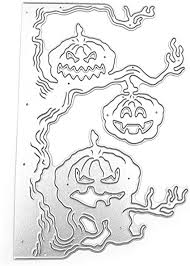 Halloween Pumpkin Tree Metal Cutting Dies Stencil ... - Amazon.com