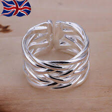 <b>925</b> Sterling <b>Silver Rings</b> products for sale | eBay