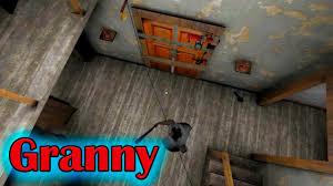 Granny 1.3 Падение на бабку - YouTube