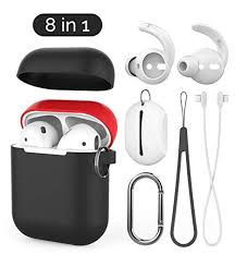 AhaStyle 8 in 1 <b>AirPods Accessories</b> Set,Ultra Thin: Amazon.co.uk ...