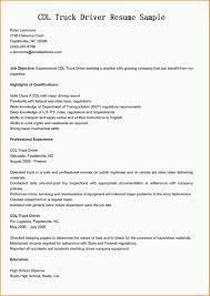 commercial truck driver resume sample paradochart related for 7 commercial truck driver resume sample