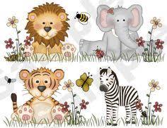 jungle zoo animals wall border baby nursery kids room bee stickers decals decor baby nursery cool bee animal