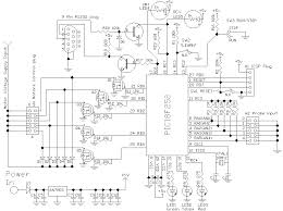 circuit of automatic irrigation system electronics and attached files