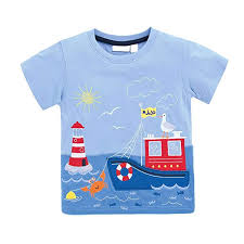 KIDSALON Little <b>Boys Summer</b> Cotton Strip Short Sleeve <b>T</b>-<b>Shirt</b> ...