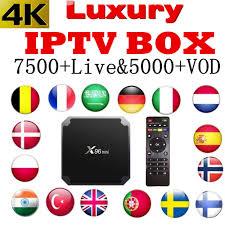 World <b>IPTV</b> Box x96mini android tv box 6000+Live <b>France Italy</b> USA ...