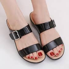 <b>Slippers</b> Women <b>Buckle Sandals</b> Orthopedic Arch Support <b>Flip Flops</b> ...