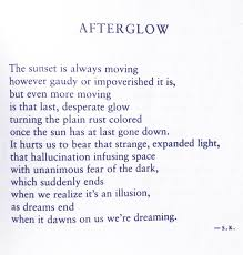 Afterglow Quotes. QuotesGram