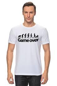 Футболка классическая <b>Game Over</b> (Игра Окончена) #661465 от ...