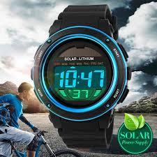 <b>SKMEI</b> Solar Power Sports <b>Watches Outdoor</b> Digital <b>Watch</b> Military ...