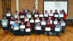 gallery cobb s forbes north public school forbes advocate federal member for calare john cobb back centre presented year six students certificates