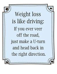 Weight loss is like driving | Fitness Quotes IMG