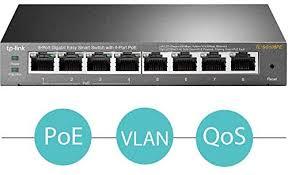 <b>TP</b>-<b>Link TL</b>-<b>SG108PE</b> 8-Port Gigabit Web Managed <b>Easy Smart</b> ...