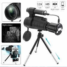 <b>40x60</b> HD <b>Zoom Monocular</b> HD <b>Telescope</b> Travel Hunting Night ...