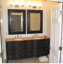 dual vanity bathroom: chic design mirrors for bathroom vanity vintage double vanities bathrooms lighted oval chiles in minnesota mirror