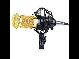 <b>BM 800 Professional</b> Microphone <b>Studio</b> Condenser White - YouTube