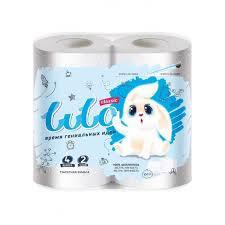 <b>LuLo</b> Бумага туалетная 2-х слойная Классик 4 шт. - Акушерство.Ru