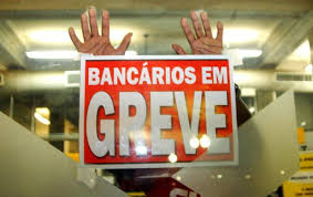 Resultado de imagem para fotos de agencias bancarias em greve