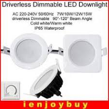 LEDIARY Recessed Ceiling LED Downlights <b>5W</b> 9W 24W 220V ...