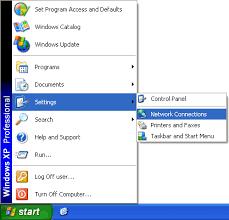 Hasil gambar untuk tampilan menu start win xp