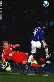 Dirk Kuyt and Phil Neville. Flashpoint: Dirk Kuyt's high-flying tackle on Phil Neville. By Mark Ogden. 12:01AM BST 23 Oct 2007 - sport-graphics-2007_710462a