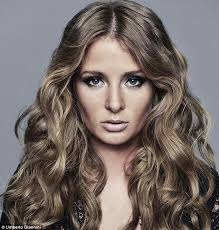 Our latest hair crush: Chelsea Girl Millie Mackintosh channels old school glamour in sultry new snaps - article-2169707-13F2C2EB000005DC-657_634x664