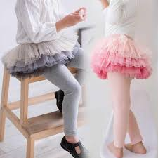 2019 New <b>Autumn Girl</b> Legging Skirt <b>pants</b> Gradient yarn Cake skirt ...