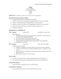 resume template objectives for customer service resumes customer customer service resumes customer service cv 12 customer customer service representative resume sample example of