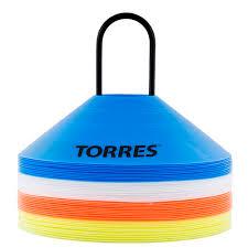 """<b>Фишки для разметки поля</b> """"TORRES"""" арт.TR1006, усеч. конусы ..."""