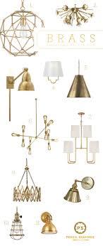 psstudio top picks for brass lighting brass sconces gold hardware brass chandelier brass lighting fixtures