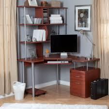 decorating photos of wooden computer desk with multi purpose drawer and shelves simple and cheap computer desk design for your home office build desk hutch cheap office shelving