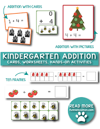 Kindergarten Addition Worksheets | FUNtastic SIMONkindergarten addition worksheets