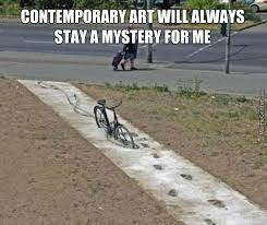 "Unknown Author: "" A Bike In The Concrete "" by rakac - Meme Center via Relatably.com"
