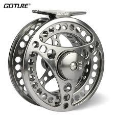2019 <b>Goture 3/4 5/6 7/8</b> 9/10 WT Fly Fishing Reel CNC Machine Cut ...