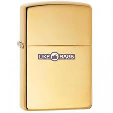 <b>Зажигалка</b> Zippo 254 B (шт.) <b>Solid</b> Brass (Полированная латунь)
