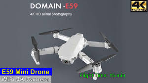 <b>E59</b> 4K Camera <b>Mini Drone</b> – Just Released ! - YouTube