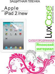 <b>Luxcase</b> защитная пленка для Apple iPad 2/3/4, суперпрозрачная ...