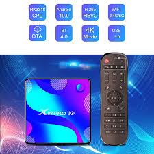 <b>X88 pro</b> 10 rk3318 <b>android</b> 10.0 smart tv box 4g 128g wifi 4k h.265 ...