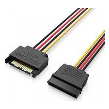 <b>Кабель питания VENTION</b> SATA 15 pin M/SATA 15 pin F - 0.3м