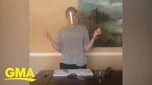 How to make a DIY <b>protective face</b> shield l GMA Digital - YouTube