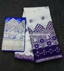 <b>white</b> and purple color nigerian <b>lace</b> guipure fabric <b>wholesale</b> ...