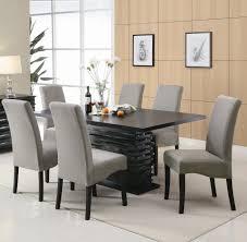 dining room tables chairs black contemporary