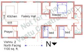 Vastu Homes  Vishnu North FacingVishnu North Facing Plan Vishnu North