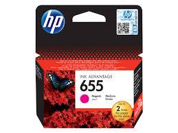 <b>HP 655</b>, Оригинальный <b>картридж</b> HP <b>Ink</b> Advantage, Пурпурный ...