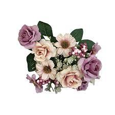 <b>Artificial</b> Flowers-Diadia <b>Western Rose Fake</b> Flowers <b>Western</b> Bud ...