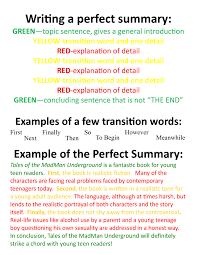 to write a summary of an essay essay structure