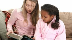 15 best part time jobs for high school students babysitting babysitter reading a book to a girl