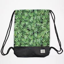 <b>Сумка CAYLER &</b> SONS Kush Gym Bag Green Leaves/Black/Black ...