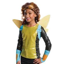 <b>Kids</b>' <b>Bumblebee</b> Halloween Wig Rubies : Target