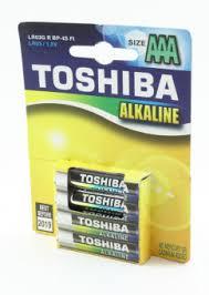 <b>Батарейка Toshiba</b> LR03 bi/2 (<b>AAA</b>), цена – купить в ТЕКО ...